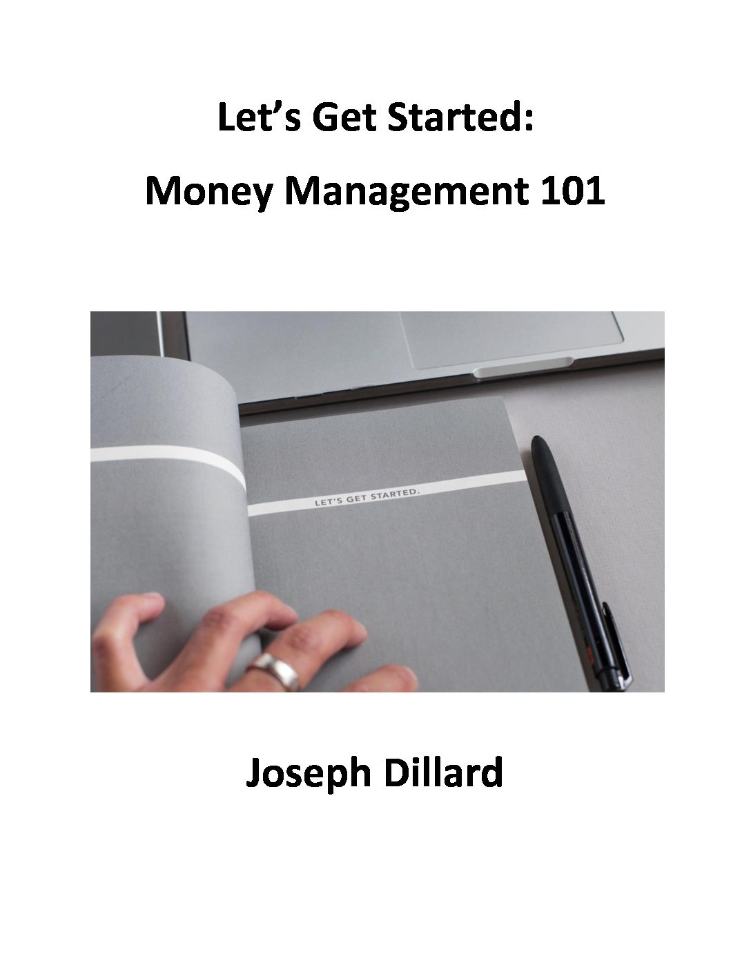Lets Get Started - ebook Cover Page